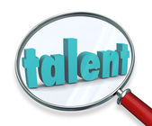 Talent Search Looking For Unique Special Skilled People — Стоковое фото