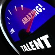 Stock Photo: Talent Measurement