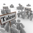 Stock Photo: Talent Groups People