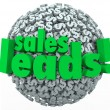 Sales Leads Dollar Sign — Stock Photo #41552543