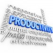 Productivity Efficiency — Stock Photo #41552607