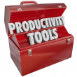 Productivity Tools Words — Stock Photo #41552613
