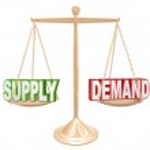 Supply and Demand Balance — Stock Photo