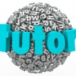 Stock Photo: Tutor Letter