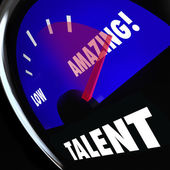 Talent Measurement — Stock Photo