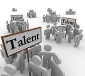 Talent Groups People — Stock Photo