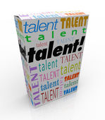 Talent Word — Stock Photo