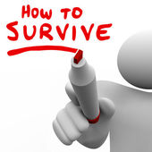 How to Survive — Stock Photo
