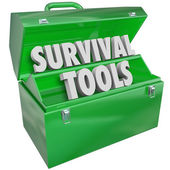 Survival Tools — Stock Photo