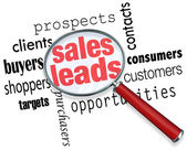 Sales Leads — Stock Photo