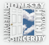 Honesty Truth I — Stockfoto