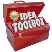 Idea Toolbox — Stock Photo