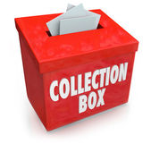 Collection Box — Stock Photo