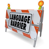 Language Barrier — Stock Photo