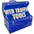 Stock Photo: Web Traffic Tools