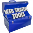 Web Traffic Tools — Stock Photo #41560029