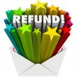 Refund — Stock Photo