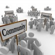 Stock Photo: Community People Groups