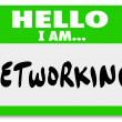 Networking Sticker — Stock Photo #41561547