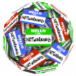 Stock Photo: Sticker Ball Sphere