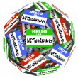 Sticker Ball Sphere — Stock Photo #41561615