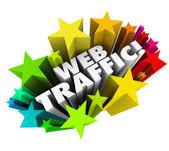Web Traffic — Stock Photo