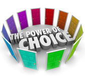 Power of Choice — Stock Photo