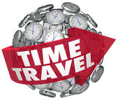 Time Travel — Stockfoto