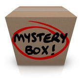 Mystery  Box — Stock Photo