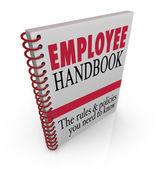Medewerkershandboek — Stockfoto