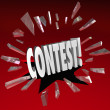 Contest 3D Word Grand Prize Drawing Announcement News — Stock Photo #43549931