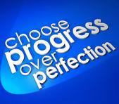 Choose Progress Over Protection — Stock Photo