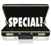 Special Offer Proposal Business Presentation Briefcase — Stock Photo