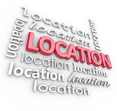 Location Word — Stock Photo