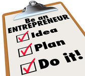 Be Entrepreneur — Stock Photo