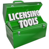 Licensing Tools Toolbox — Stock Photo
