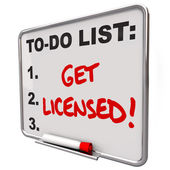 Get Licensed Words To Do List Board — Stock Photo
