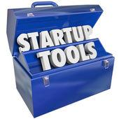 Startup Tools Toolbox — Stock Photo