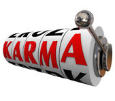 Karma Word — Stock Photo