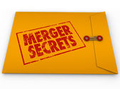 Merger Secrets — Stock Photo