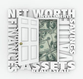 Net Worth — Stock Photo