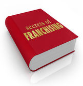 Secrets of Franchising Book Cover Advice — Stock Photo