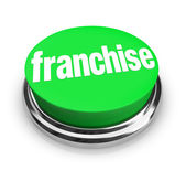Franchise Button — Stock Photo