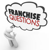 Franchise Questions — Stock Photo