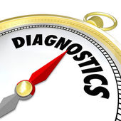 Diagnostics Compass — Stock Photo