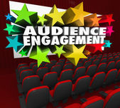 Audience Engagement — Stock Photo