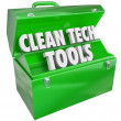 Clean Tech Tools Toolbox — Stock Photo #46064619