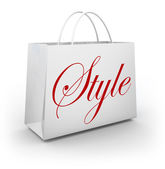 Style Shopping Bag — Stock Photo