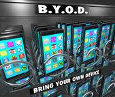 BYOD Smart Cell Phone Vending Machine — Stock Photo