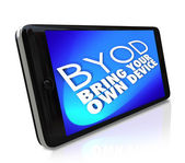 Smart Phone BYOD — Stock Photo